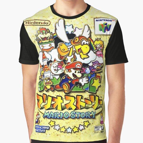 Papier Mario japanischen Promo Grafik T-Shirt