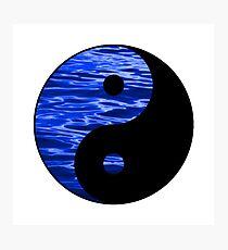 ying yang Photographic Print