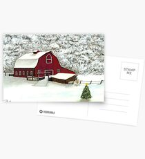 Wisconsin Christmas Postcards