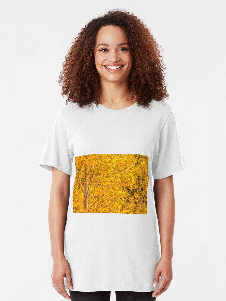 Alternate view of Gold Aspen Coins Slim Fit T-Shirt