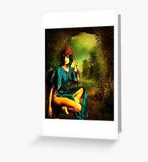 HUNTRESS Greeting Card
