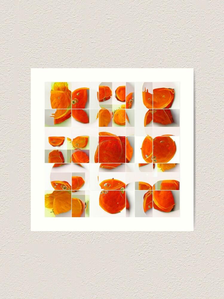 Alternate view of ORANGE is  Art Print