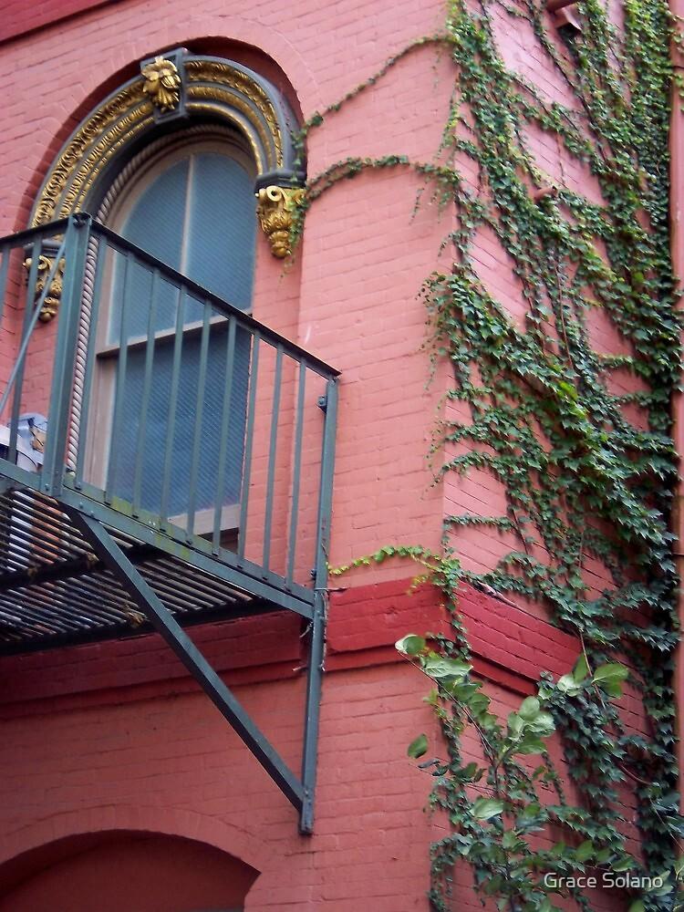 A balcony in Ithaca by Graciela Maria Solano