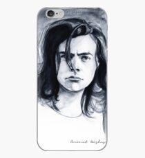 H B/W watercolors iPhone Case