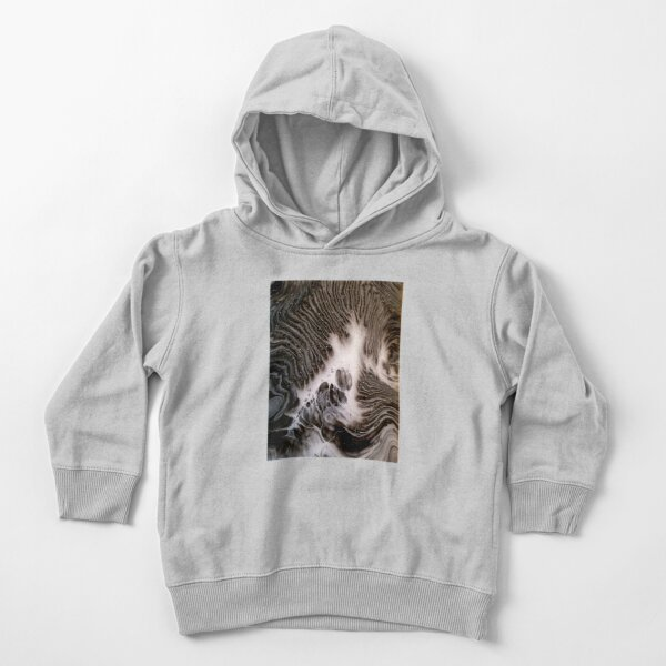 Visions Of Chocolate & Cream Toddler Pullover Hoodie