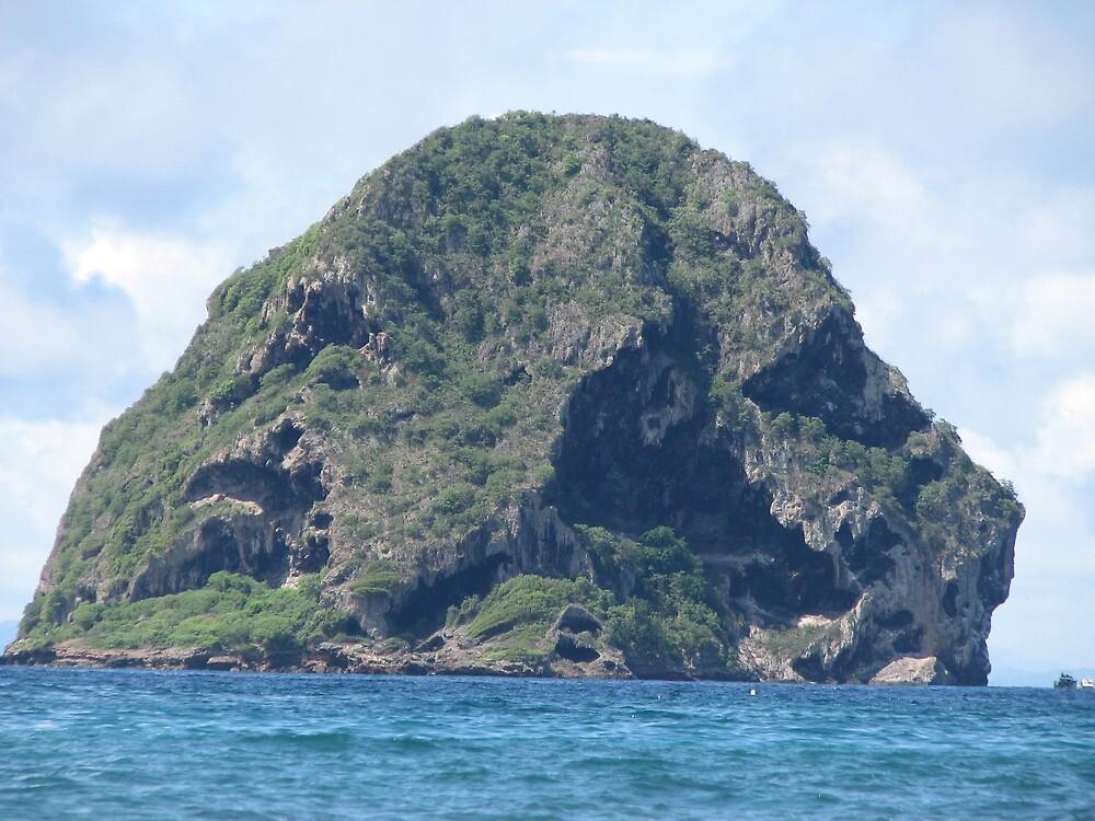 Majestic Diamond rock - Le Diamant - Martinique FWI by verono972