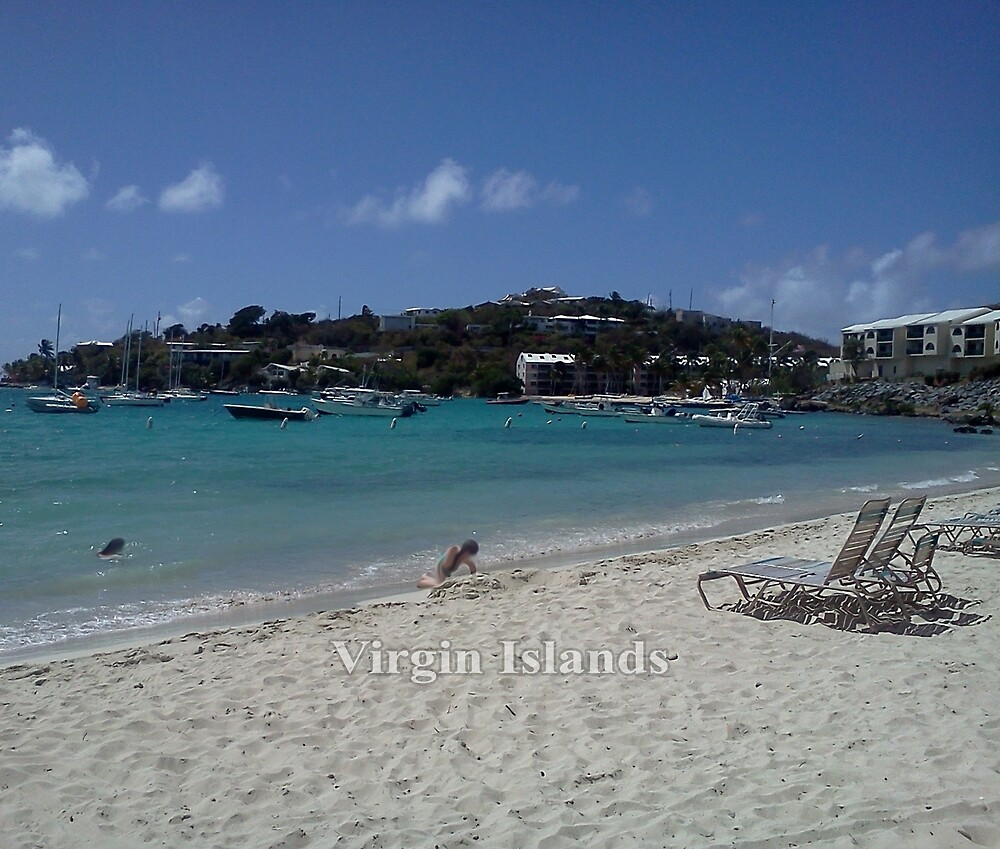 Virgin Islands Resort Beach by KarenBarron