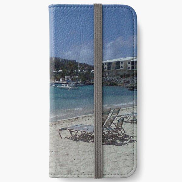 Virgin Islands Resort Beach iPhone Wallet