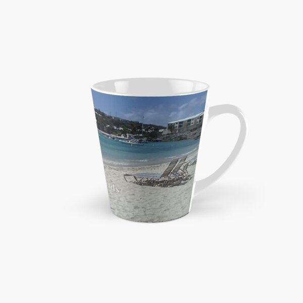 Virgin Islands Resort Beach Tall Mug