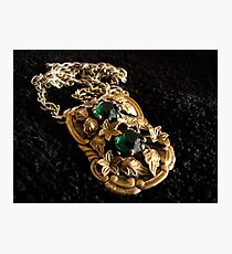 The Brooch Photographic Print
