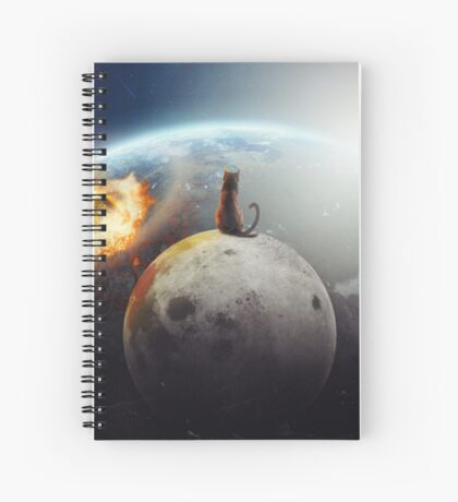 Cat Victory Spiral Notebook