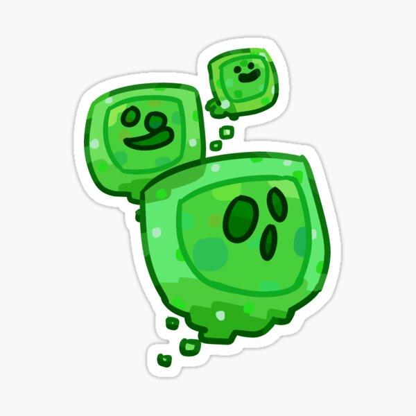 Minecraft Slimes Sticker