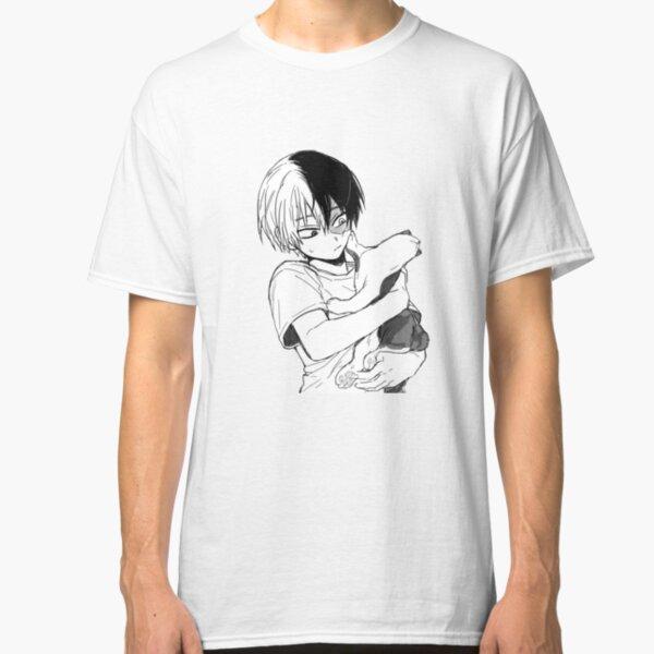 Todoroki with his cat Classic T-Shirt