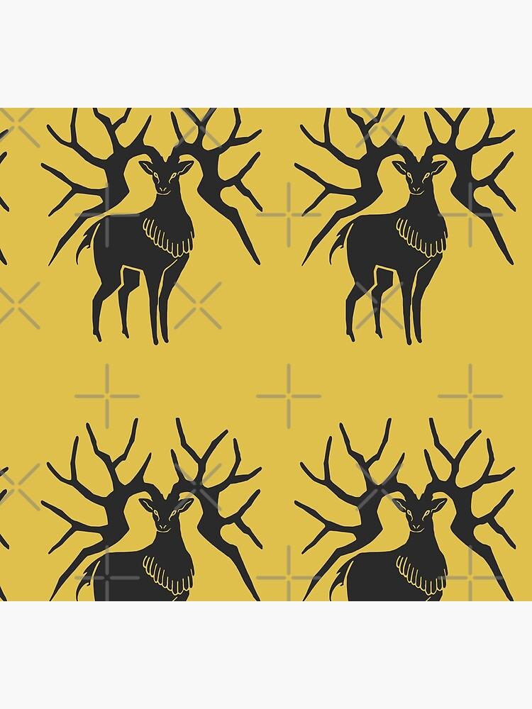 Fire Emblem™: Three Houses - Golden Deer Emblem [Colored] by SWISH-Design