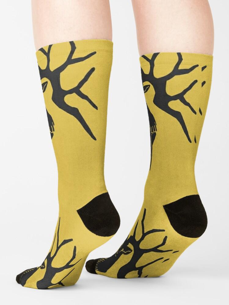 Alternate view of Fire Emblem™: Three Houses - Golden Deer Emblem [Colored] Socks