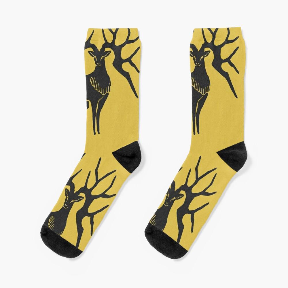 Fire Emblem™: Three Houses - Golden Deer Emblem [Colored] Socks