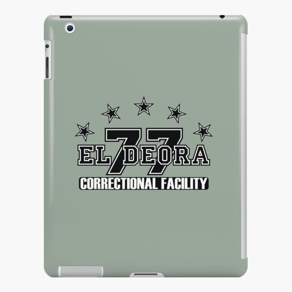 77 El Deora -Correctional (a) iPad Snap Case