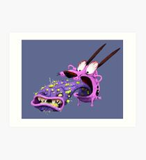 Courage the Cowardly Dog! Art Print