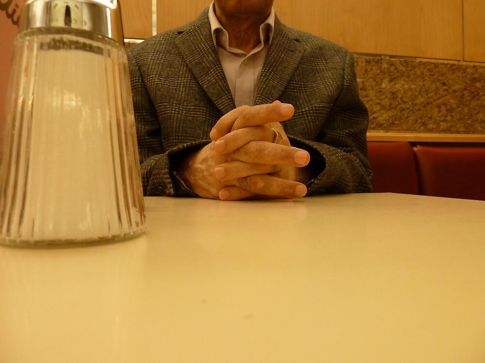 Tawfiq in Vienna cafe 4 by Fahar