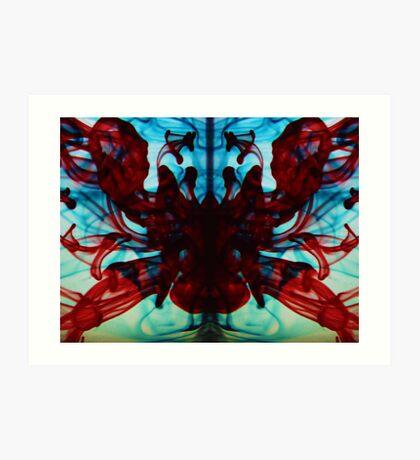 Spider Womb Art Print