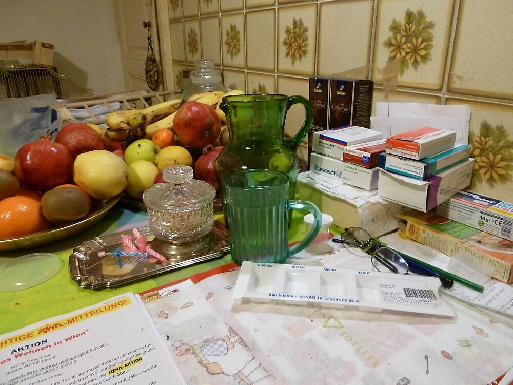 Still Leben , Tawfiqs Kitchen by Fahar