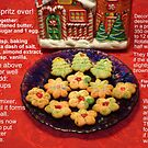 Spritz, my favorite Christmas cookie! (Best viewed enlarged) by Nanagahma