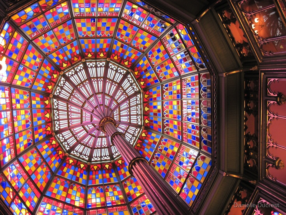 To View the Sky Through Primary Colors - Baton Rouge, LA by Danielle Ducrest