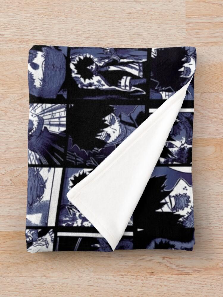 Alternate view of Dabi collage Throw Blanket