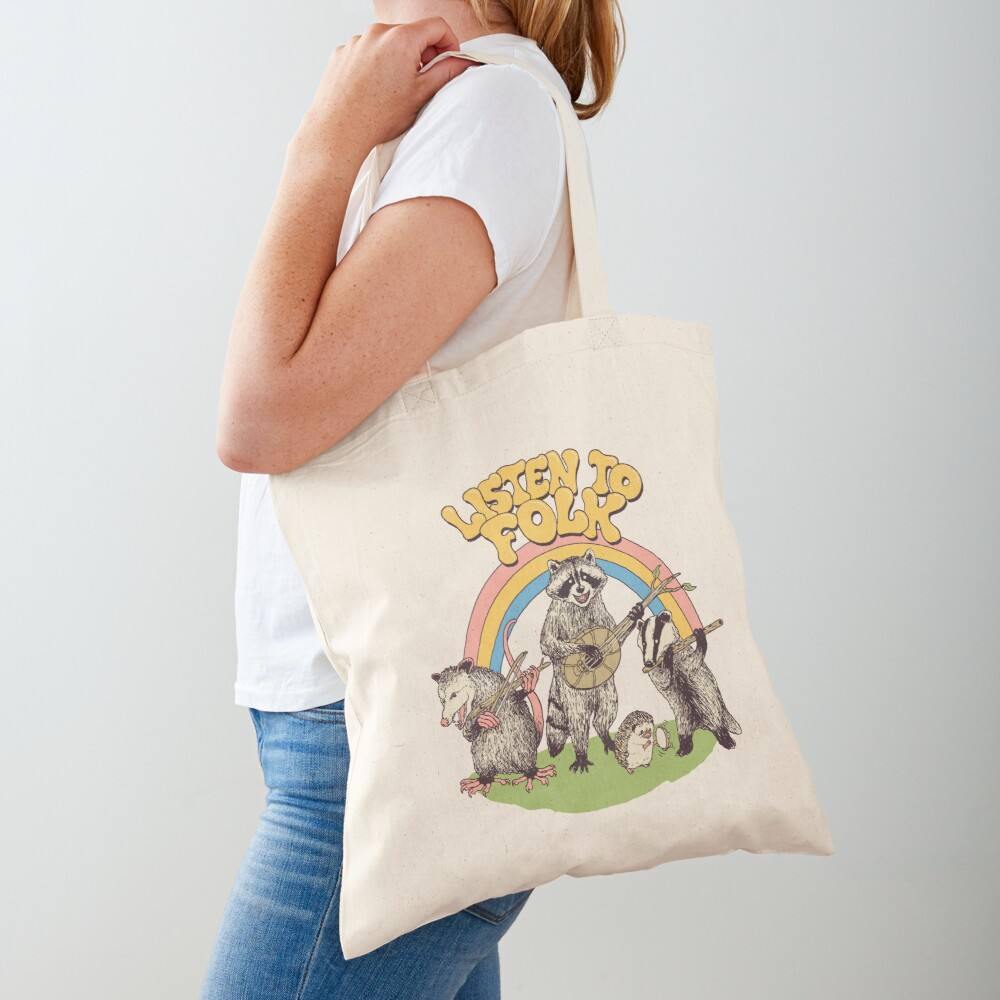 Listen To Folk Tote Bag