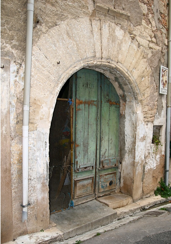 12c Doorway Capestang France by Paul Pasco