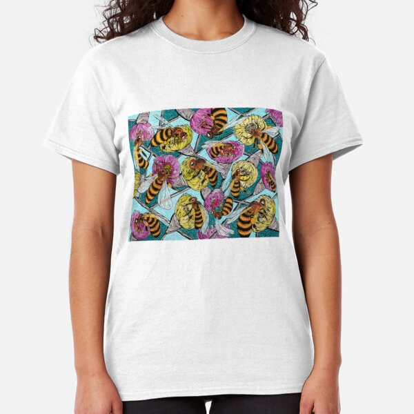 Bees and Flowering Gum Classic T-Shirt
