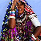 TRIBAL GIRL - INDIA by Michael Sheridan