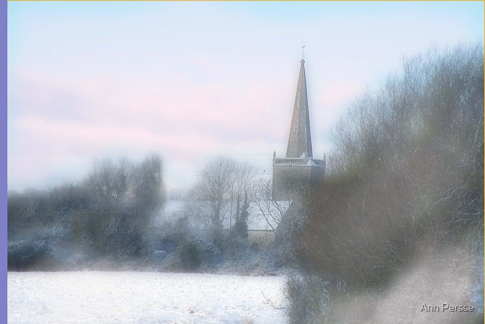 The Church over the field by Ann Persse