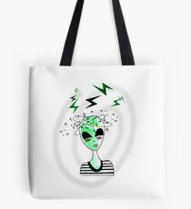 Alien from Area 51  Tote Bag