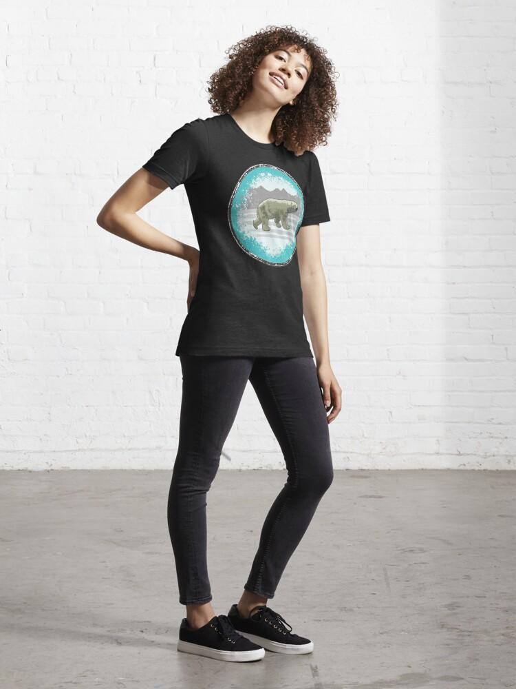 Alternative Ansicht von Eisbär Popart Essential T-Shirt