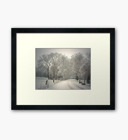 A Winter's Tale Framed Print