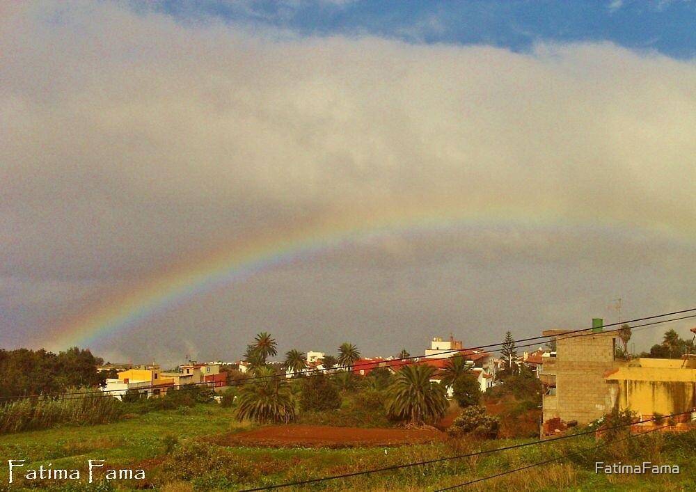 Rainbow over Tacoronte by FatimaFama