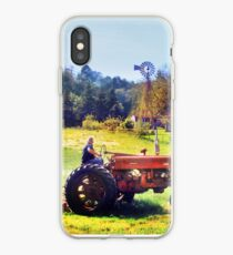 Yardwork at the Old Red Mill iPhone Case