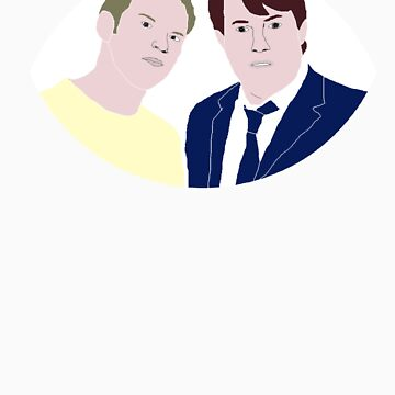 Peep Show - Mark and Jez by bluedisc