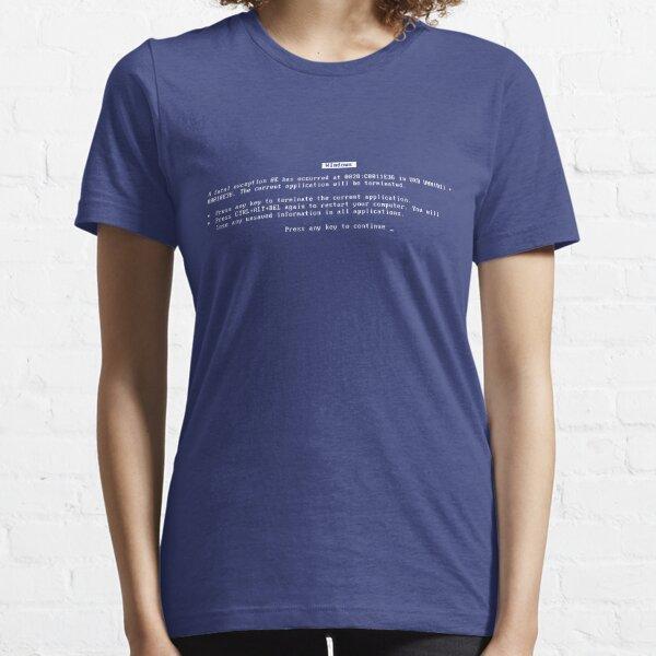 Blue Screen of Death Essential T-Shirt