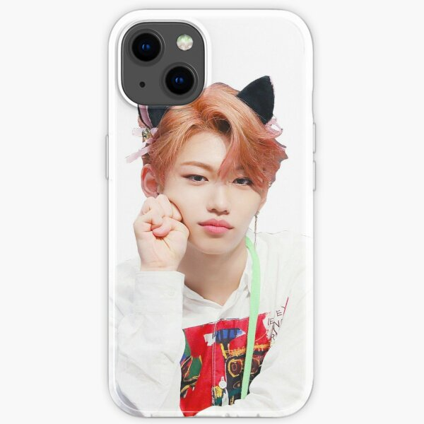 Stray Kids Felix Cat Ears iPhone Soft Case