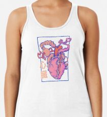 heart. Racerback Tank Top
