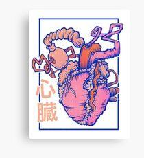 heart. Canvas Print