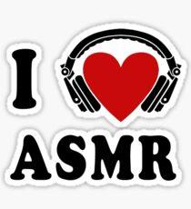 I Love ASMR Sticker