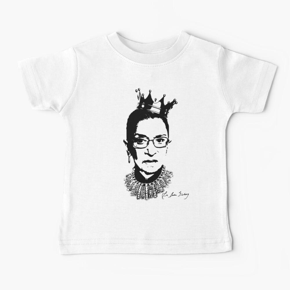 Ruth Bader Ginsburg Autograph  Baby T-Shirt