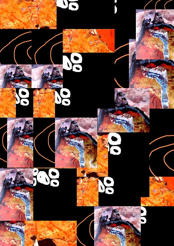 Collage 000 by Richard  Tuvey
