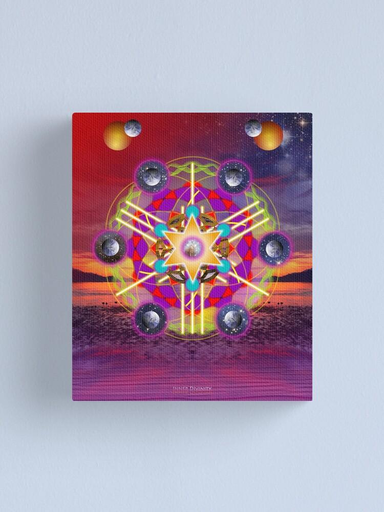 Alternate view of Inner Divinity Canvas Print