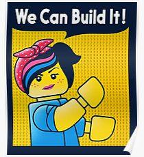 Build it! Poster