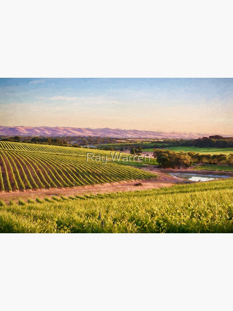 McLaren Vale Magic (digital painting) by RayW