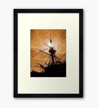 Rigging Framed Print
